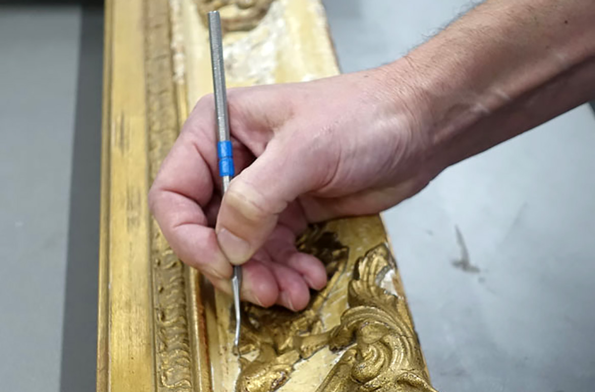 Preserving Our Past: Conservation frames and furniture - QAGOMA Blog