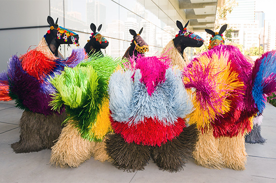 "Sugar Spin: you, me, art and everything Nick Cave's ""Heard"" in front of GOMA"