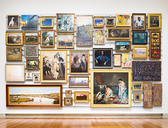 Queensland Art Gallery Gallery 5 Moving Pictures installation view