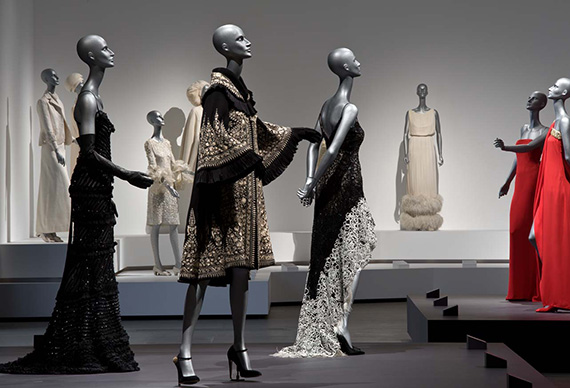 Valentino installation view