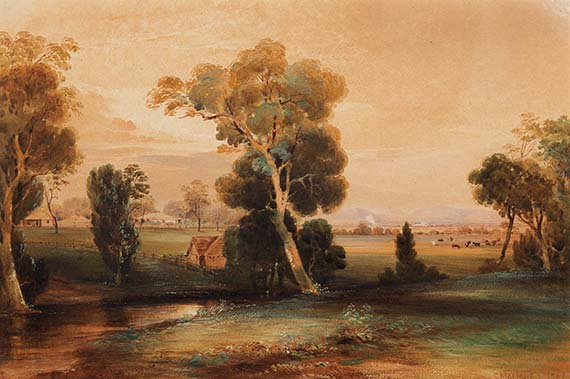 BLOG_1998_042_002_Conrad Martens, The homestead, Canning Downs 1852