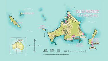 Bentinck Island Map