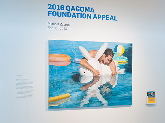 2016 QAGOMA Foundation appeal Appeal work: Michael Zavros Bad Dad 2013
