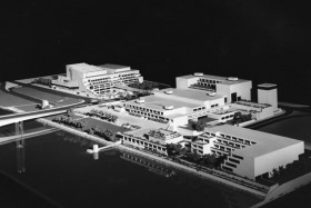 blog-qag-full size-Model of the Cultural Centre in Brisbane 1985