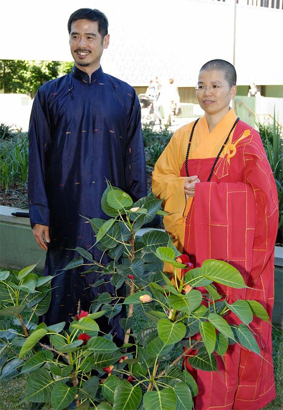 Blessing of the Bodhi Tree, Gallery of Modern Art, May 2008