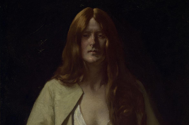 Bernard Hall, Lady with sponge 1922