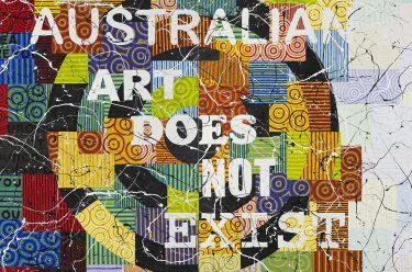 The Australian Art Collection reimagined / Richard Bell, Judgement Day (Bell's Theorem) 2008