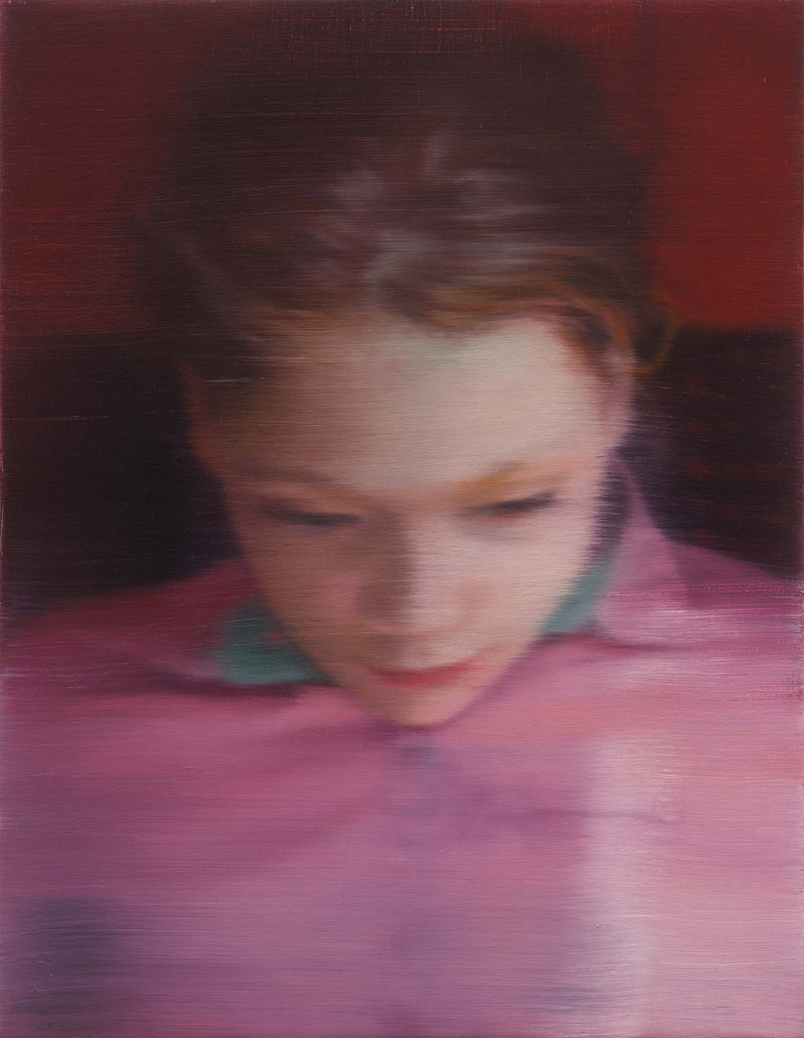Gerhard Richter, Germany b.1932 / Ella (903-1) 2007 / Oil on canvas / Private Collection / © Gerhard Richter 2017