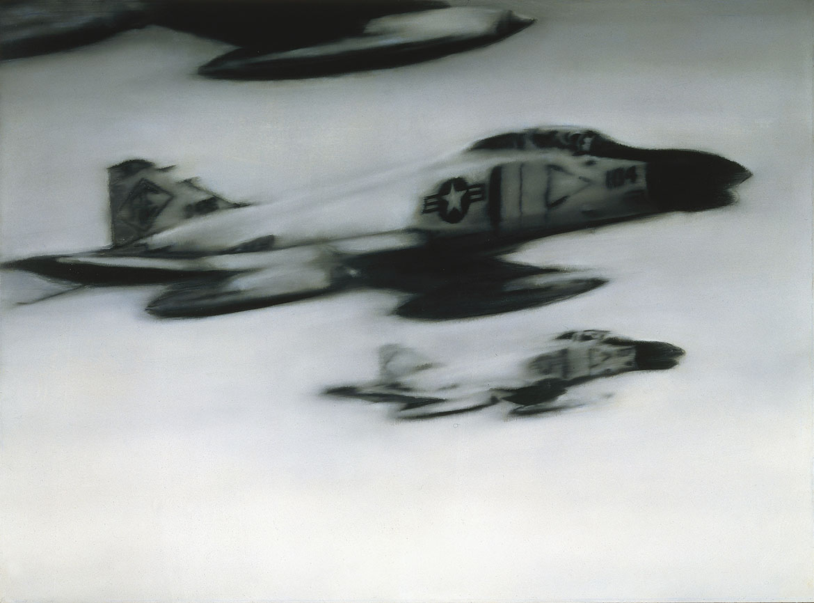 Gerhard Richter Phantom Interceptors (50) 1964