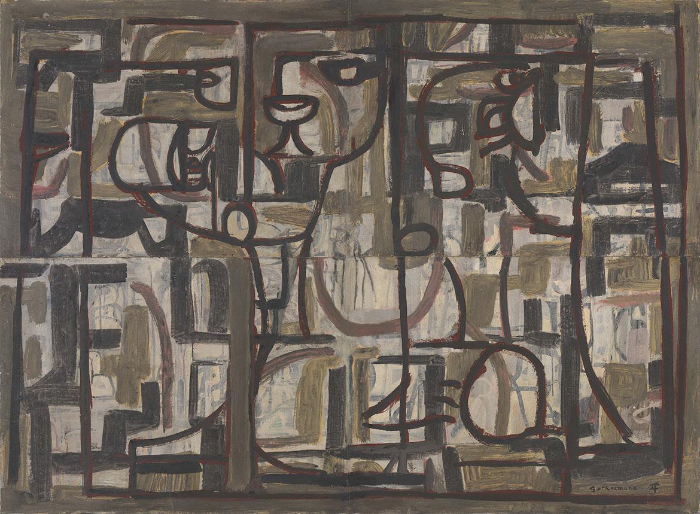 Ian Fairweather, Gethsemane 1958