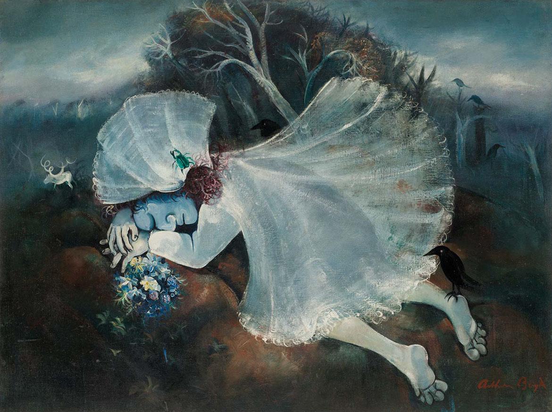 Arthur Boyd, Australia 1920-99 / Sleeping bride 1957-58