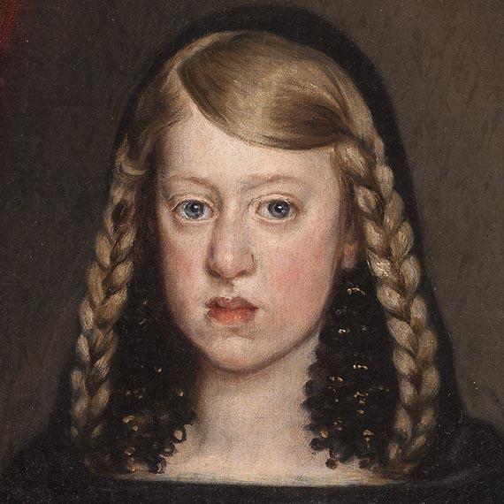 Juan Bautista Martínez del MAZOLa infanta Margarita 1666205 x 144cm(P0888)