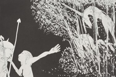 Arthur Boyd, Australia 1920-1999 / The lady and the unicorn (portfolio) 1975