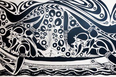 Alick Tipoti, Kala Lagaw Ya people, Australia b.1975 / Kudusur 2017